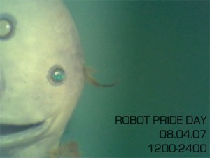 Robot Pride Day flyer 2007